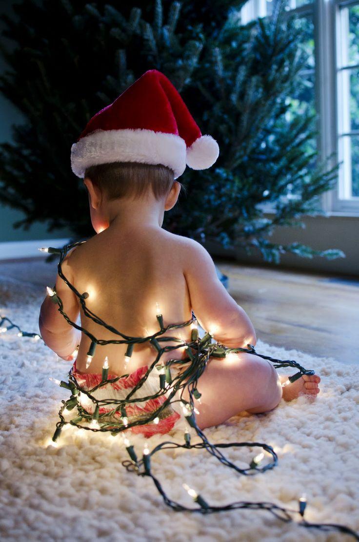 Fotos divertidas de navidad niños