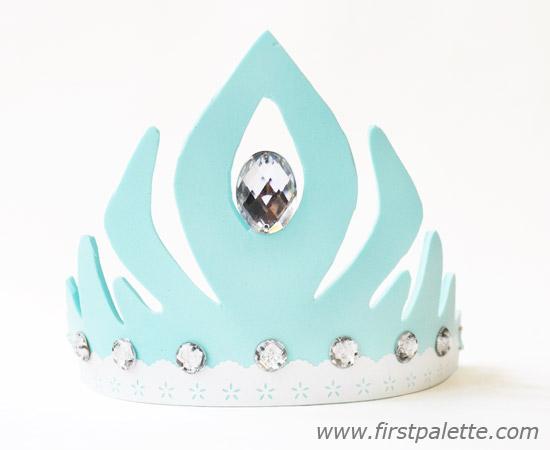 Corona elsa de frozen