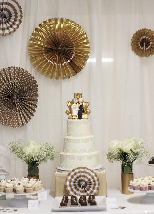 Decoraciones para 50 aniversario de bodas boda delin 233 for Decoracion para aniversario