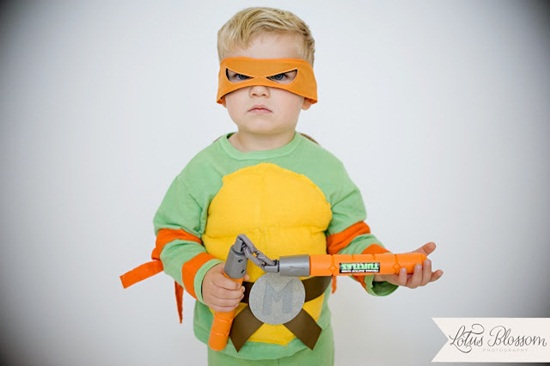 Disfraz tortuga ninja handmade