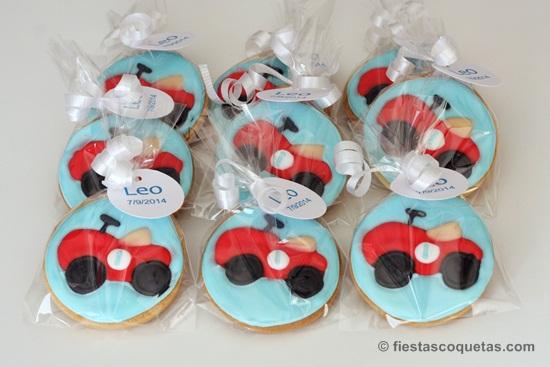 galletas decoradas coche vintage