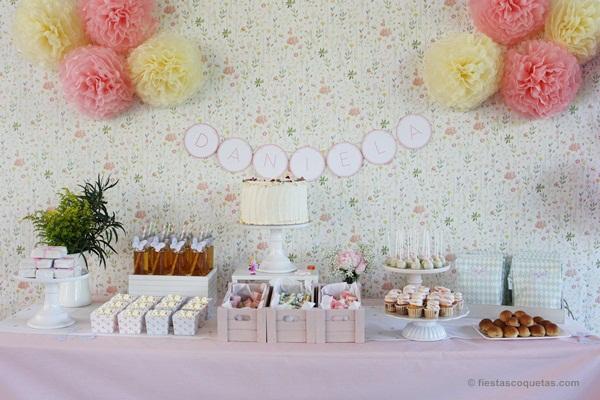 Mesa dulce fiesta princesas