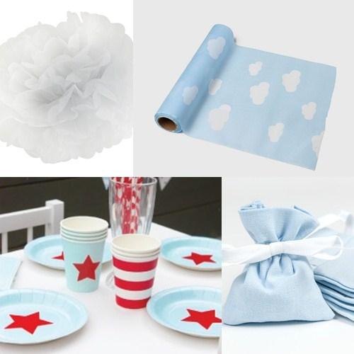 Productos para decorar baby shower niño