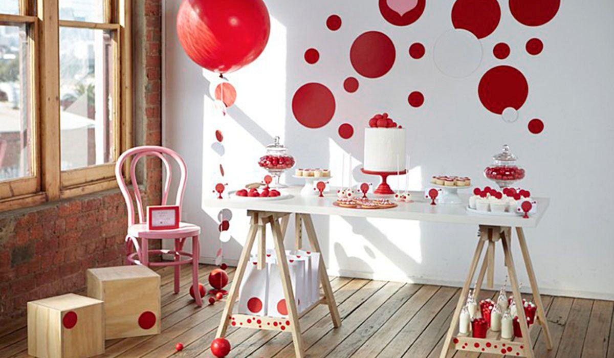 Detalles de Decoración para San Valetín - Fiestas Coquetas Blog