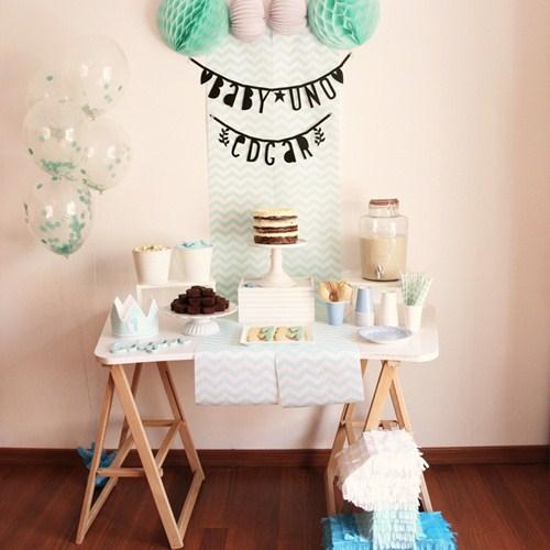 decoraci n del primer cumplea os del beb edgar fiestas