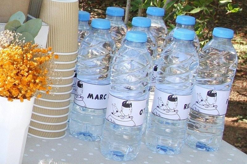 botellas-agua-personalizadas-fiesta-tintin