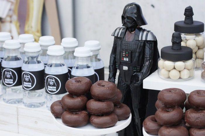 Botellines de agua personalizados Star Wars