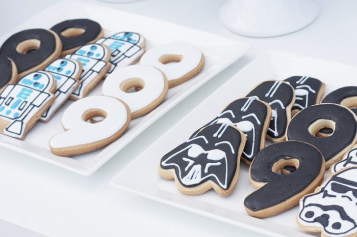 Galletas decoradas star wars