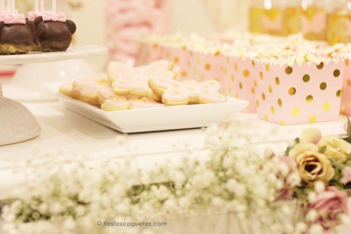 Galletas decoradas fiesta Minnie Mouse