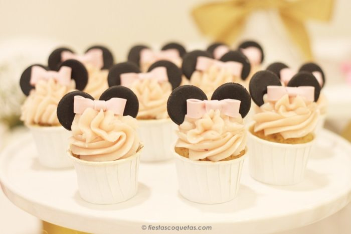 Minicupcakes minnie mouse