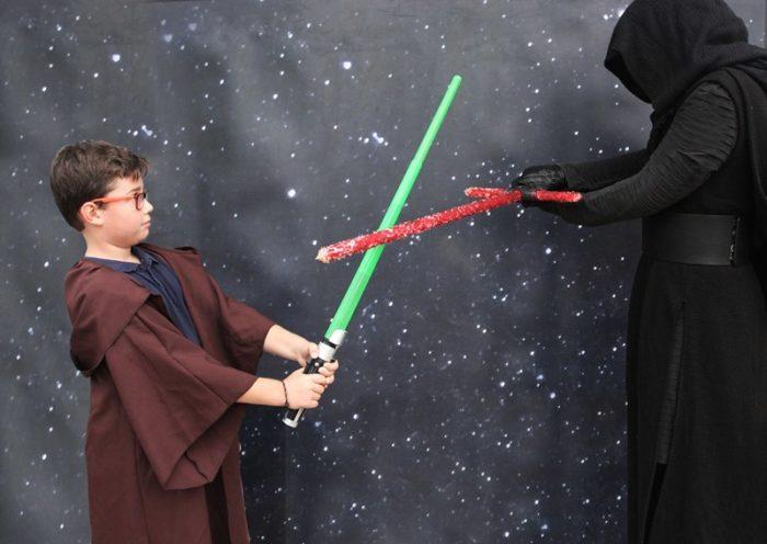 Animacion infantil Fiesta Star Wars