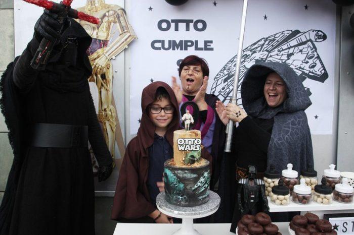 Decoración fiesta Star Wars para el cumpleaños de Otto