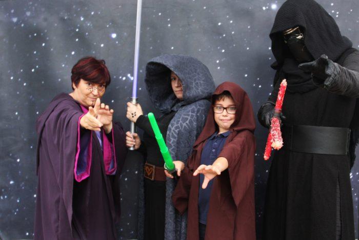 Animación infantil personajes Star Wars