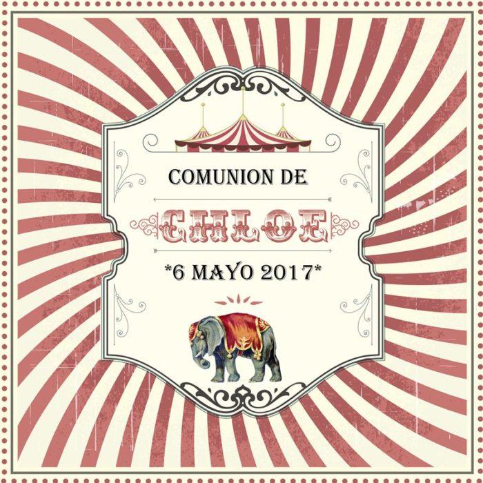cartel-comunion-circo-chloe-vintage