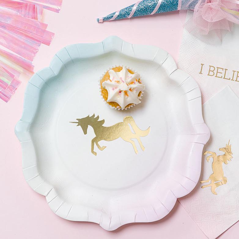 platos-de-carton-unicornios-fiestas-coquetas