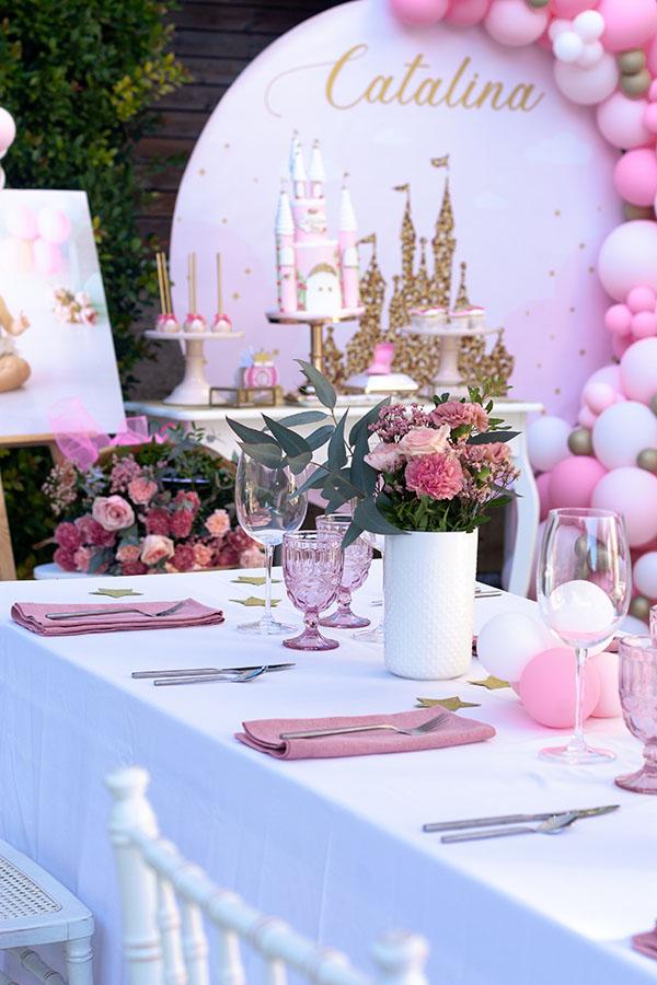 fiesta-de princesas-en-casa